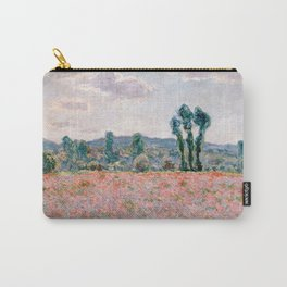 Poppy Field in Giverny by Claude Monet Carry-All Pouch