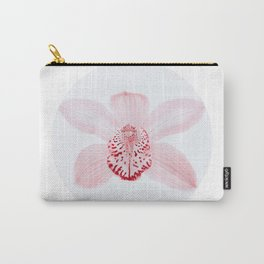 pink orchid flower - minimalistic Carry-All Pouch