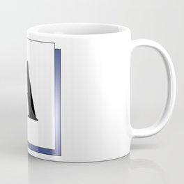 Capital letter A Coffee Mug