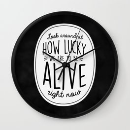 Look Around, Look Around Wall Clock