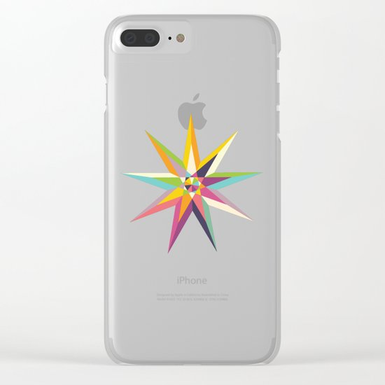 Star Power 1 Clear iPhone Case