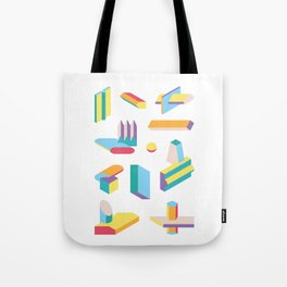 Extrusions No.1 Tote Bag