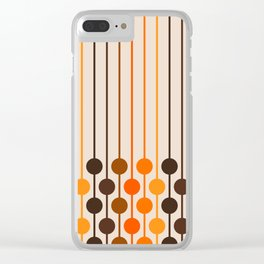 Golden Sixlet Clear iPhone Case