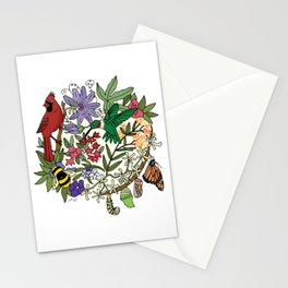 Pollinator's Garden Stationery Cards