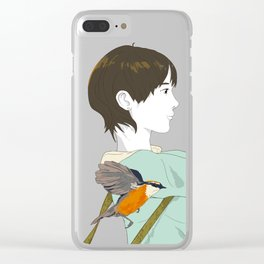 Let Me Catch You! Clear iPhone Case