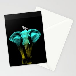 Friends for Life fluro Stationery Cards