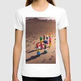 Strange Rocks - 7 Magic Mountains in Las Vegas T-shirt