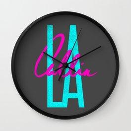 L.A. Callin' Wall Clock