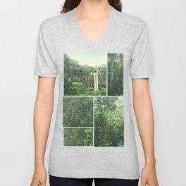 Green Paradise Unisex V-Neck