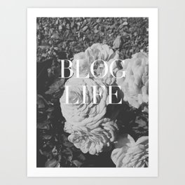 blog and/or thug life Art Print