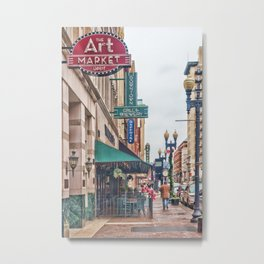 Downtown Knoxville Metal Print