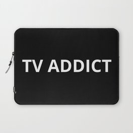 The TV Addict Laptop Sleeve
