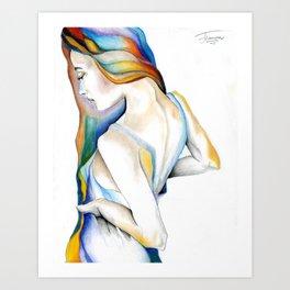 Rebirth by J Namerow Art Print