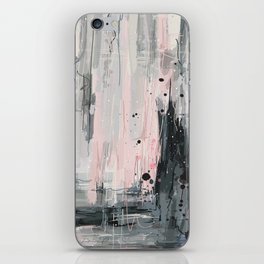 Soft Pink Abstract iPhone Skin