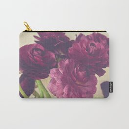 Romantic Ranunculus Carry-All Pouch
