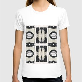 Black And White Abstract Pattern T-shirt