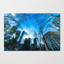 Madison Park Skyline Canvas Print