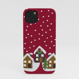 Winter idyll iPhone Case