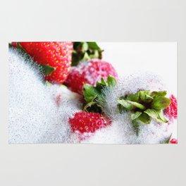 Strawberry Spores Rug