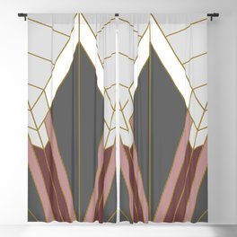 ART DECO G1 (abstract) Blackout Curtain