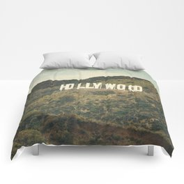 Hollywood (color) Comforters
