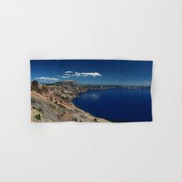 Crater Lake View with Caldera Rim Hand & Bath Towel