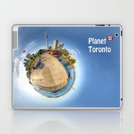 Planet Toronto Wall Paper Laptop & iPad Skin