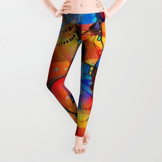 The Birth of Cool Leggings