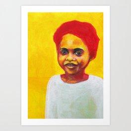 Les petites filles I.13 Art Print