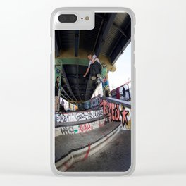 Stair Flying Clear iPhone Case