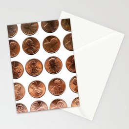Twenty Cents (Penny Edition)  Stationery Cards
