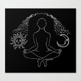 Cosmic dances Canvas Print