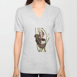 Baby Bird II Unisex V-Neck