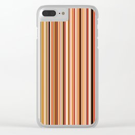 Old Skool Stripes - Morning Clear iPhone Case