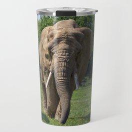 Elephant Heard Charging Travel Mug