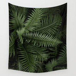 Tropical leaves 02 Wall Tapestry