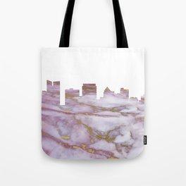 Fort Lauderdale Skyline Tote Bag