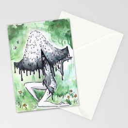 Empire of Mushrooms: Coprinopsis Atramentaria Stationery Cards