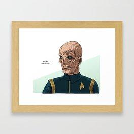 You're Important Framed Art Print