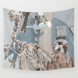 Peregrine Falcon and Kestrels Wall Tapestry
