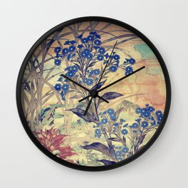 Slow Burning Wall Clock