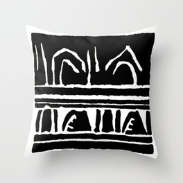 Let's Go Riding in the Car Throw Pillow