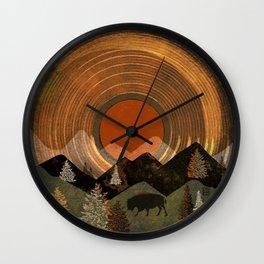 Bison Album Art Wall Clock