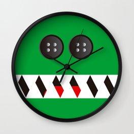 It's a green Mosnter! Wall Clock
