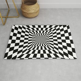 Optical Illusion Hallway Rug