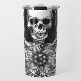 Matryoshka Skelton Doll Travel Mug