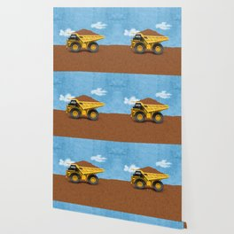 Construction Dump Truck Wallpaper