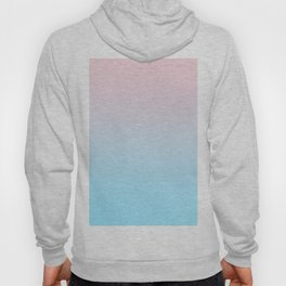 HEAD IN THE CLOUDS - Minimal Plain Soft Mood Color Blend Prints Hoody