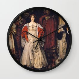 Who is Sylvia? What is She, That All the Swains Commend Her? by Edwin Austin Abbey Wall Clock