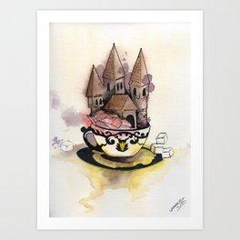 Sweet Chateau Art Print